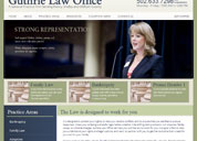 Guthrie Law Office Web Design